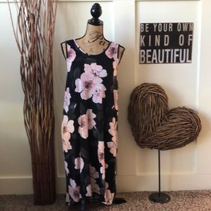 Apt.9 sleeveless floral high low nightgown